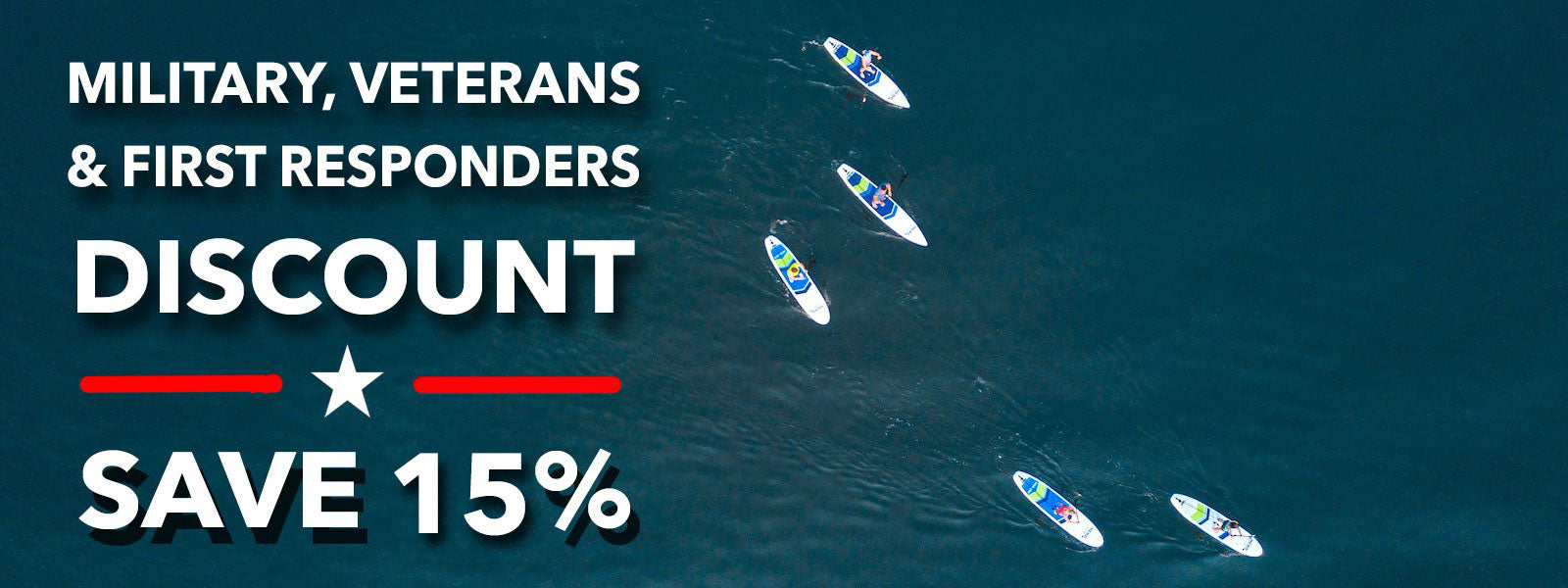 Hero SUP Canada military & first responder discount paddle boards