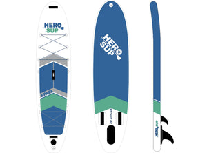"Hero SUP Spark 10'5"" All-Around Inflatable Stand-Up Paddle Board"