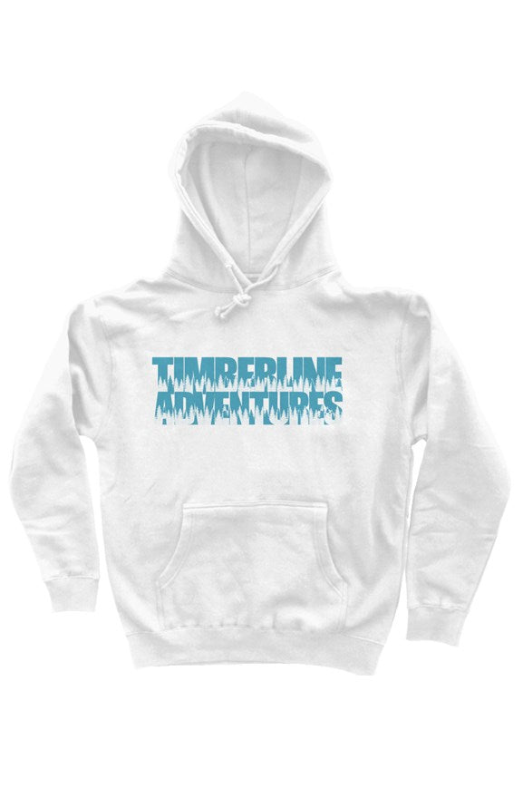 TA Trees pullover hoody - Lake Blue