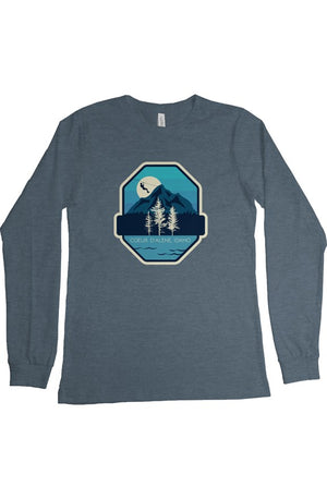 CDA Moonlit Long Sleeve T Shirt - Heather Slate