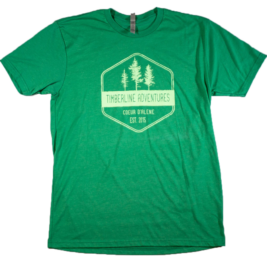 Treeline Hex T-Shirt - Green