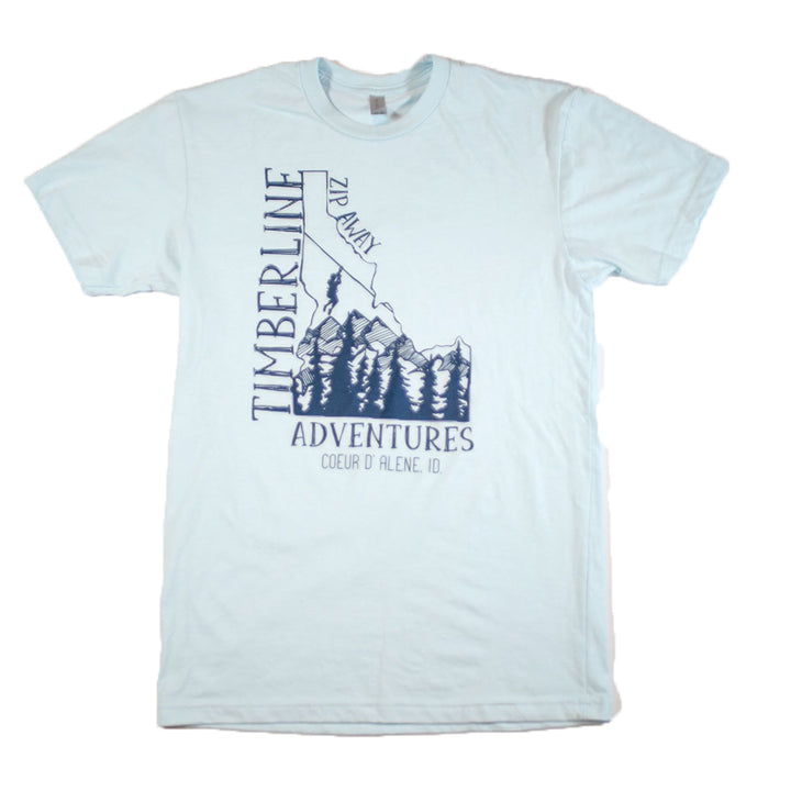 Gem State Rep T-Shirt - Pale Blue