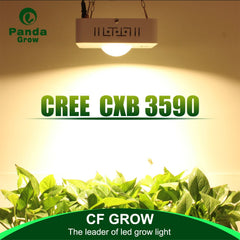 Cree High Intensity 100W Full Spectrum Cob Led Grow Light, Stronger Light Energy With Lens, Cooling Fan Without Noise, High Par Value Especially For Special Plants - DojoGrow- Tents & Lights