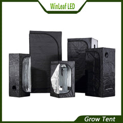 Easy Beginner Indoor Growing Tent 60x60x140cm - DojoGrow- Tents & Lights