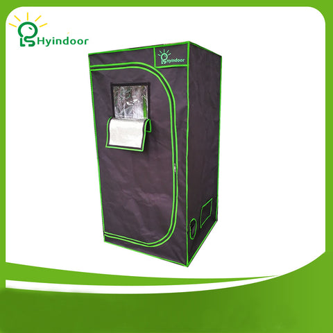 100*100*200 indoor Hydroponics Grow Tent Greenhouse Reflective Mylar Non Toxic Room - DojoGrow- Tents & Lights