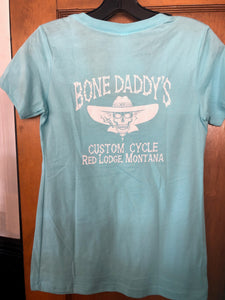 Women's Bone Daddy's V Neck T
