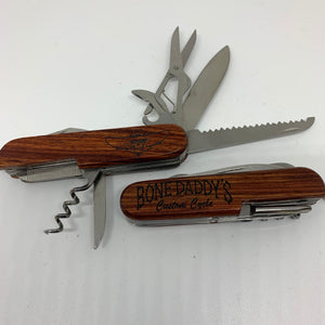 "Bone Daddy 3 1/2"" Multi Tool Knife"