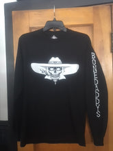 Load image into Gallery viewer, 2018 Rally Men's Black Long Sleeve T Shirt BD Down Arm/HUGE PRICE REDUCTION!!!