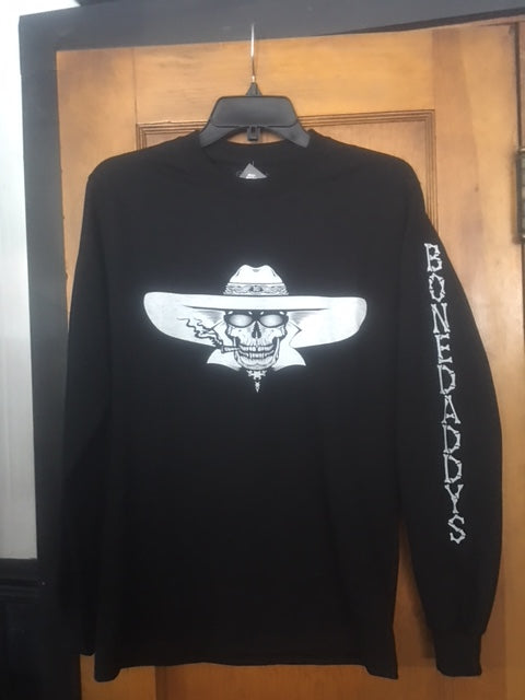 2018 Rally Men's Black Long Sleeve T Shirt BD Down Arm/HUGE PRICE REDUCTION!!!