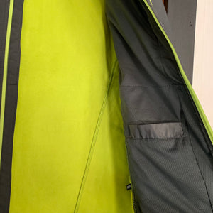 Men's Landway Matrix Soft Shell, Charcoal/Lime