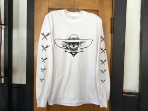 Men's Long Sleeve T w/Flip Off on Arm