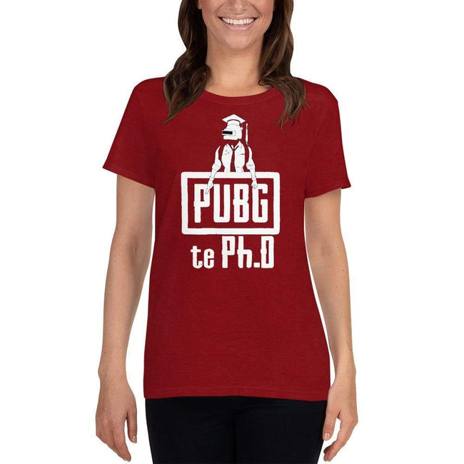 Antique Cherry Red / S Bengali Heavy Cotton Short Sleeve T-Shirt -PUBG Te PHD