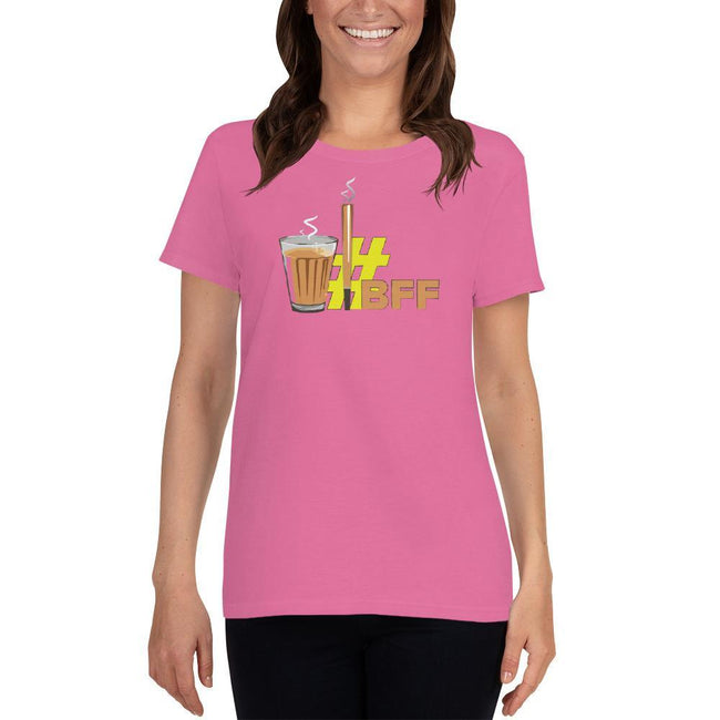 Azalea / S Bengali Heavy Cotton Short Sleeve T-Shirt -BFF