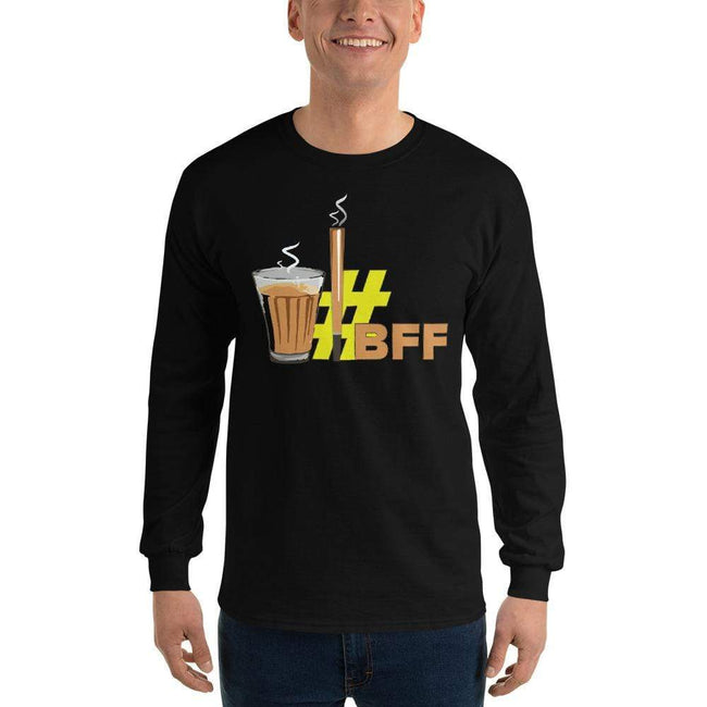 Black / S Bengali Ultra Cotton Long Sleeve T-Shirt - BFF