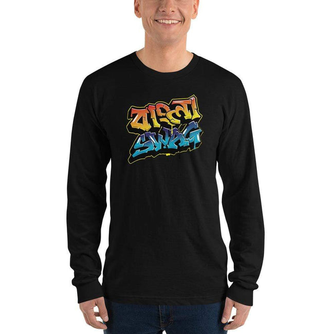 Black / S Bengali Unisex Fine Jersey Long Sleeve T-Shirt - Bangla Swag