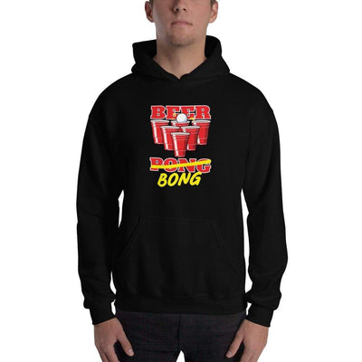 Black / S Bengali Unisex Heavy Blend Hooded Sweatshirt - Beer Bong