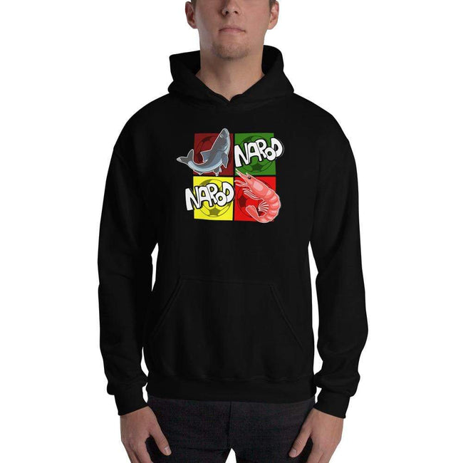 Black / S Bengali Unisex Heavy Blend Hooded Sweatshirt -  Narod Narod