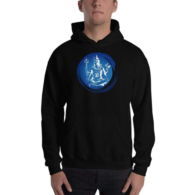 Black / S Bengali Unisex Heavy Blend Hooded Sweatshirt - Om