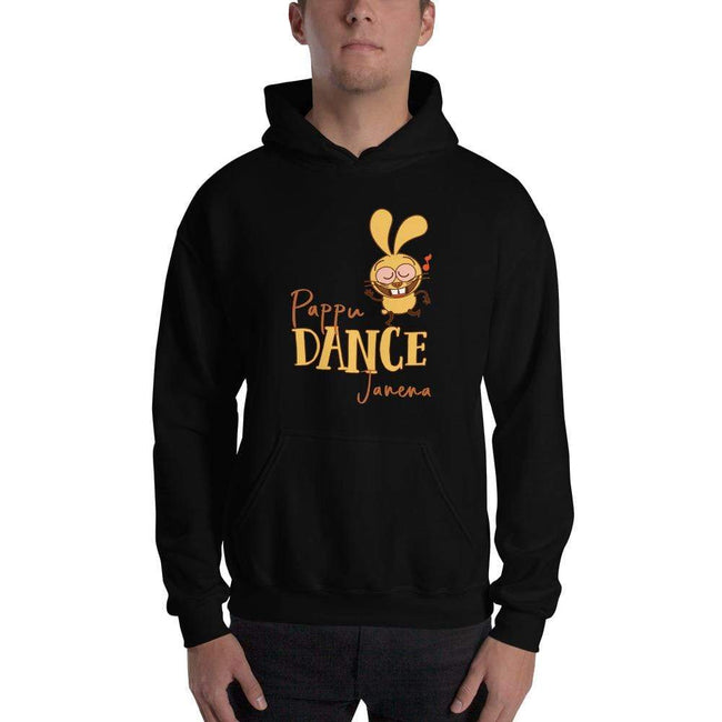 Black / S Bengali Unisex Heavy Blend Hooded Sweatshirt - Pappu Dance Janena
