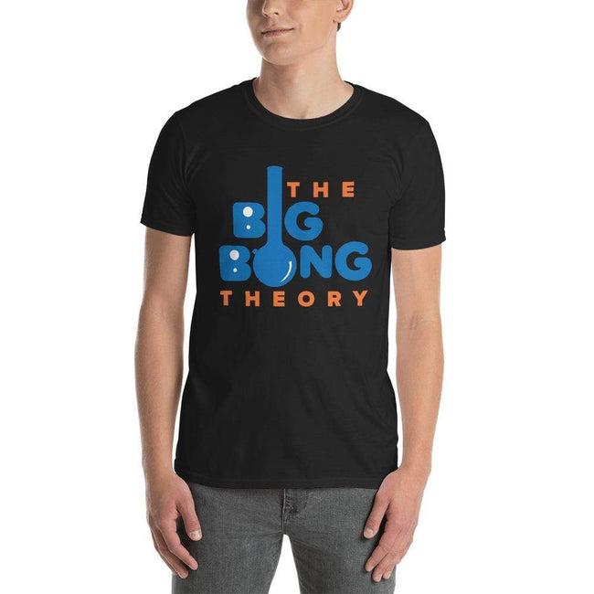 Black / S Bengali Unisex Softstyle T-Shirt - The Big Bong Theory