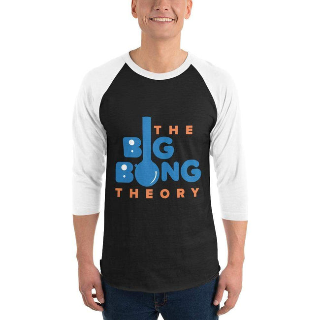 Black/White / XS Bengali Unisex Fine Jersey Raglan Tee   - The Big Bong Theory
