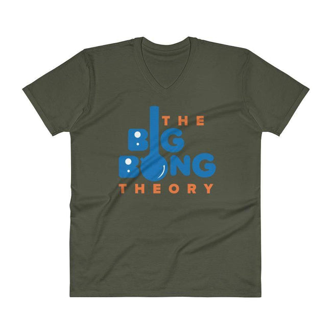 City Green / S Bengali Unisex Short Sleeve V-Neck Jersey Tee - The Big Bong Theory