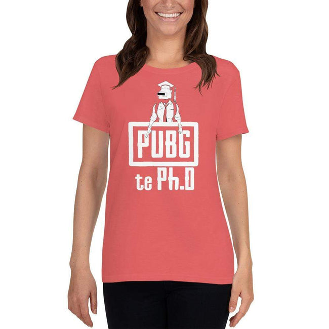 Coral Silk / S Bengali Heavy Cotton Short Sleeve T-Shirt -PUBG Te PHD