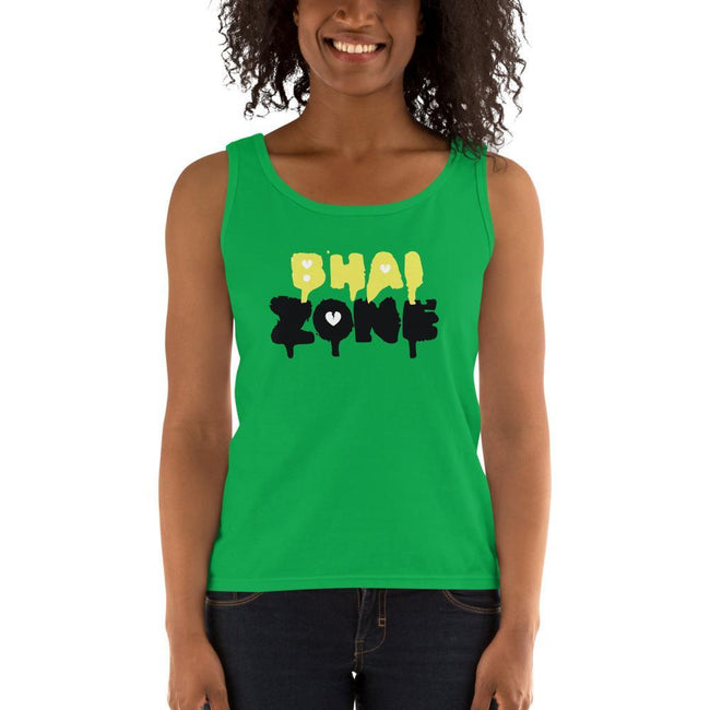 Green Apple / S Bengali Ultra Cotton Tank Top - Bhai Zone