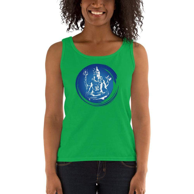 Green Apple / S Bengali Ultra Cotton Tank Top - Om