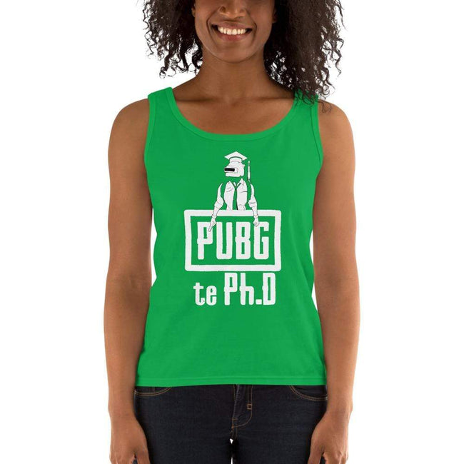Green Apple / S Bengali Ultra Cotton Tank Top - PUBG Te PHD