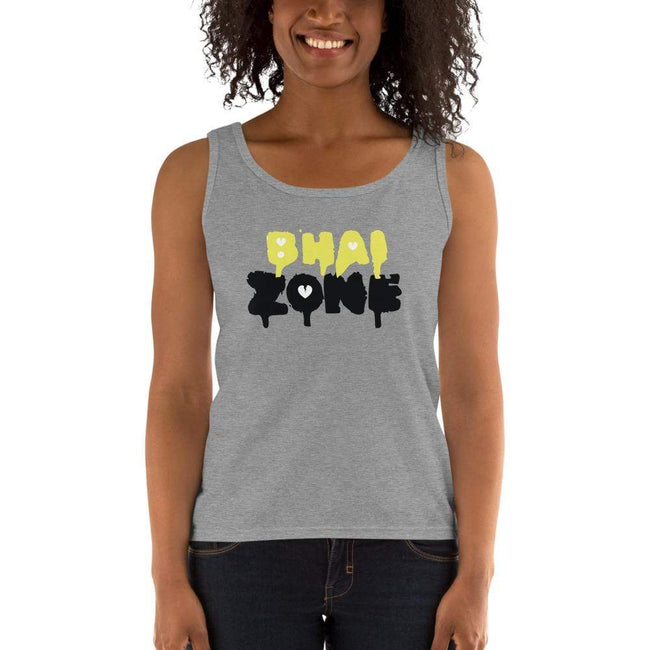 Heather Grey / S Bengali Ultra Cotton Tank Top - Bhai Zone