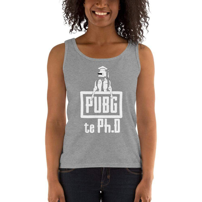 Heather Grey / S Bengali Ultra Cotton Tank Top - PUBG Te PHD