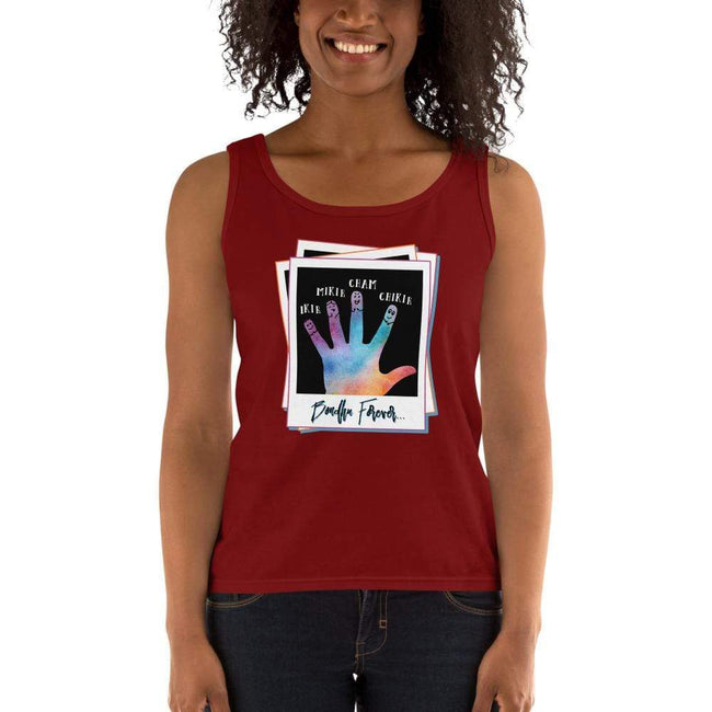 Independence Red / S Bengali Ultra Cotton Tank Top - Bondhu Forever