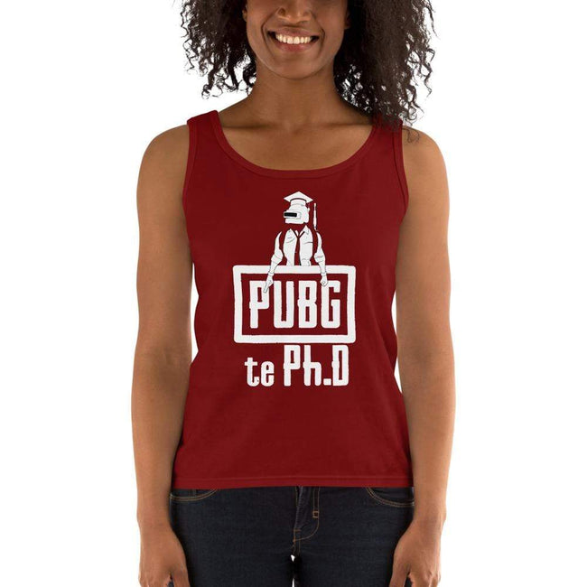 Independence Red / S Bengali Ultra Cotton Tank Top - PUBG Te PHD