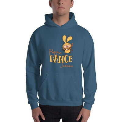 Indigo Blue / S Bengali Unisex Heavy Blend Hooded Sweatshirt - Pappu Dance Janena