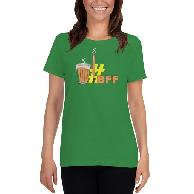 Irish Green / S Bengali Heavy Cotton Short Sleeve T-Shirt -BFF