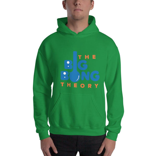Irish Green / S Bengali Unisex Heavy Blend Hooded Sweatshirt - The Big Bong Theory