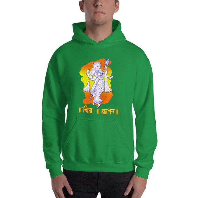 Irish Green / S Bengali Unisex Heavy Blend Hooded Sweatshirt - Vidya Roopeno