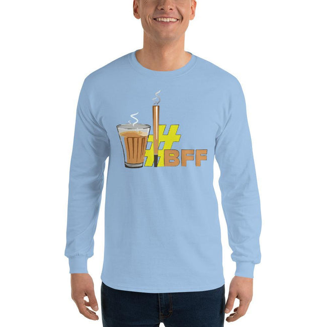 Light Blue / S Bengali Ultra Cotton Long Sleeve T-Shirt - BFF