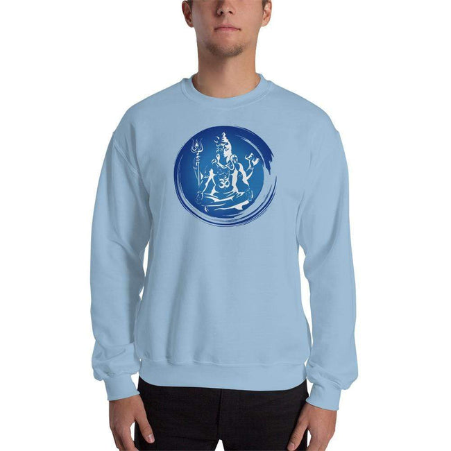 Light Blue / S Bengali Unisex Heavy Blend Crewneck Sweatshirt - Om