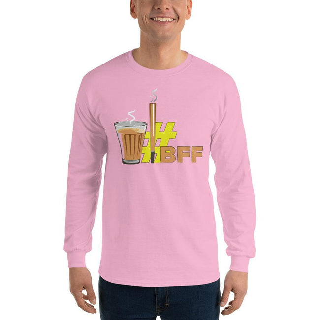 Light Pink / S Bengali Ultra Cotton Long Sleeve T-Shirt - BFF