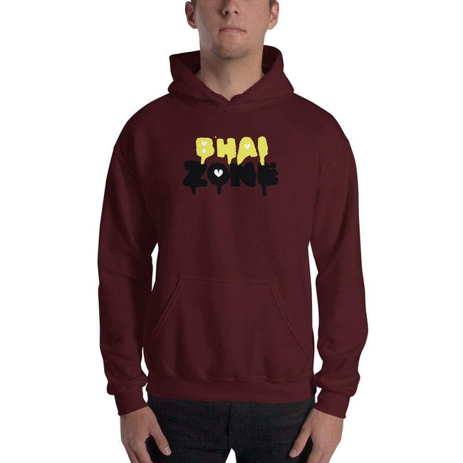 Maroon / S Bengali Unisex Heavy Blend Hooded Sweatshirt - Bhai Zone