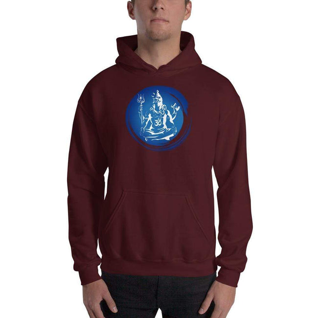 Maroon / S Bengali Unisex Heavy Blend Hooded Sweatshirt - Om