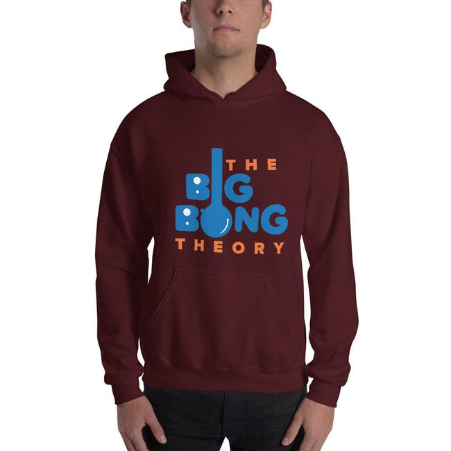 Maroon / S Bengali Unisex Heavy Blend Hooded Sweatshirt - The Big Bong Theory