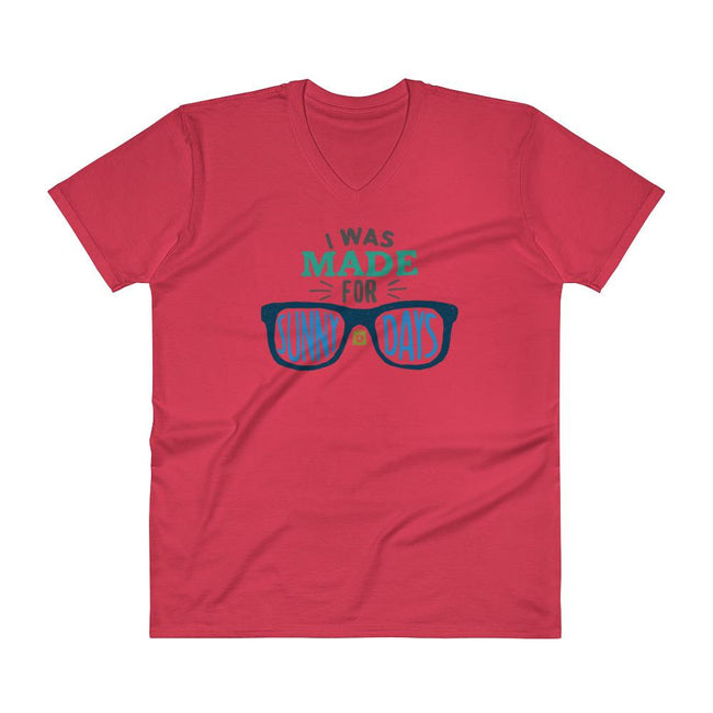 Men's V- Neck T Shirt - A sun-kissed Life: