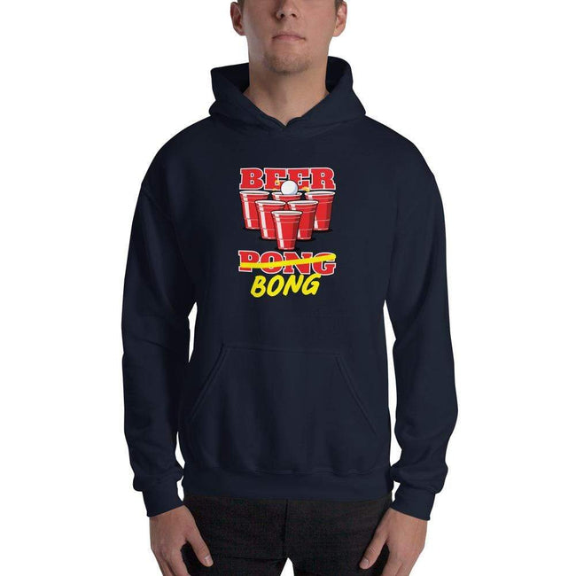 Navy / S Bengali Unisex Heavy Blend Hooded Sweatshirt - Beer Bong