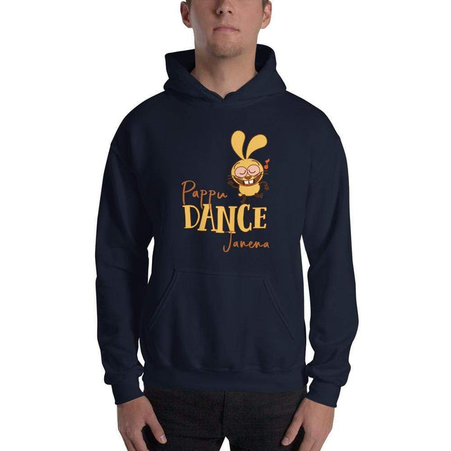 Navy / S Bengali Unisex Heavy Blend Hooded Sweatshirt - Pappu Dance Janena