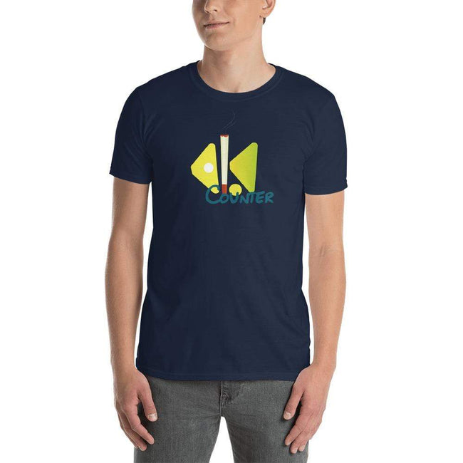 Navy / S Bengali Unisex Softstyle T-Shirt - Bar Counter