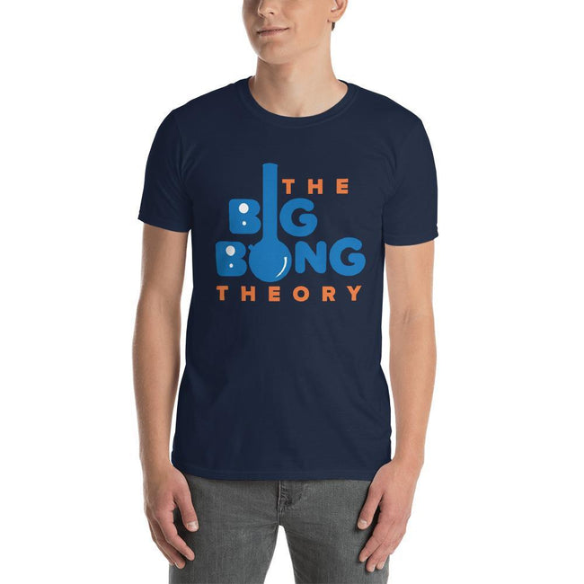 Navy / S Bengali Unisex Softstyle T-Shirt - The Big Bong Theory