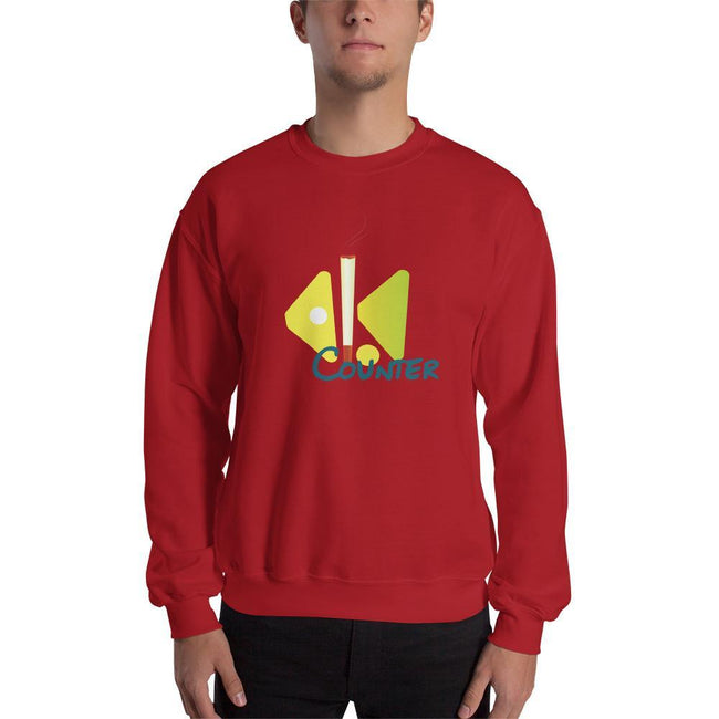 Red / S Bengali Unisex Heavy Blend Crewneck Sweatshirt - Bar Counter